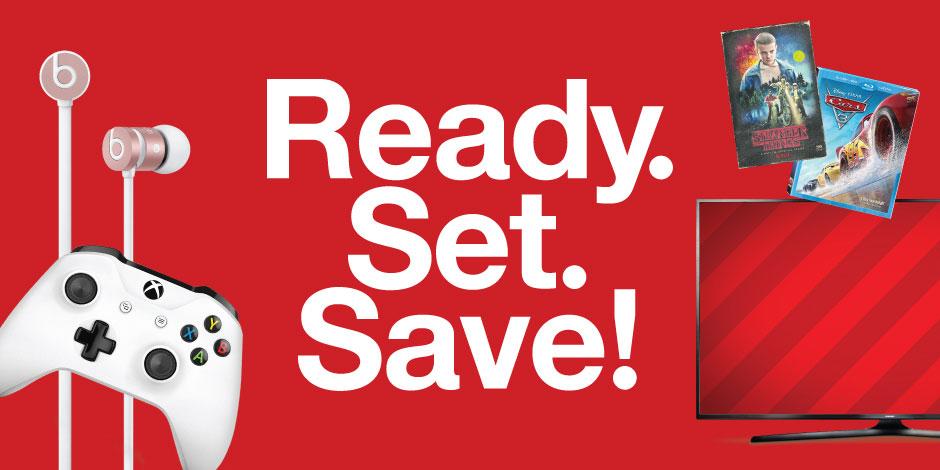Target ad ready set save